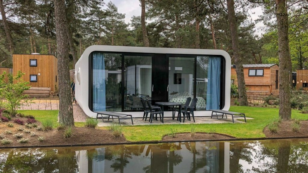 Modus-L workcation in een Tiny Office in Nederland