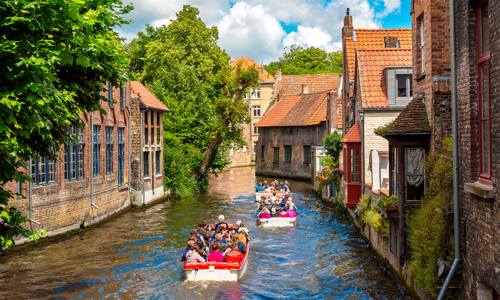 Boottocht-Brugge