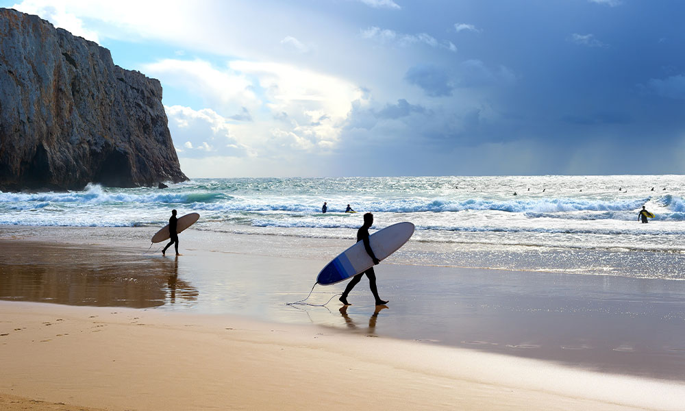 beste surf camps in Portugal